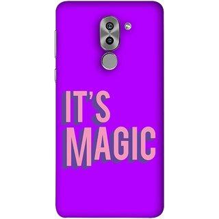 FUSON Designer Back Case Cover For Huawei Honor 6X (Lovely Wow Fact Motivational Inspirational Words)