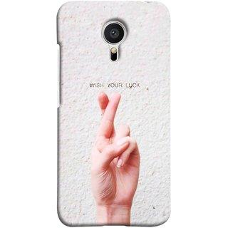 FUSON Designer Back Case Cover for Meizu MX5 (Always Wish You Best Success Happy Palm )