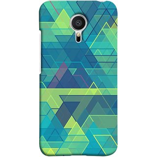FUSON Designer Back Case Cover for Meizu MX5 (Hexagonal Shape Abstract Pattern Geometric Shapes )