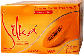Silka Whitening Herbal Soap 135g