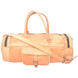 cfa0728d6aedb6 Buy Gosling Leather Duffle/Gym Bag 18 - Tan Online - Get 22% Off