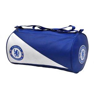 Stylish Leather Rite Duffel Sport Travel Gym Bag  (Blue, Kit Bag)
