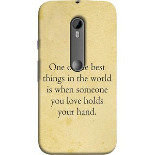 FUSON Designer Back Case Cover for Motorola Moto G Turbo Edition :: Virat FanBox Moto G Turbo Virat Kohli (Someone You Love Holds Your Hands Forever Together)
