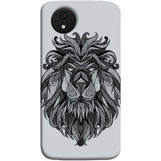 FUSON Designer Back Case Cover for Micromax Canvas Android A1 AQ4501 :: Micromax Canvas Android A1 (Jungle Ka King Pencil Pen Sketch Best Wallpaper)