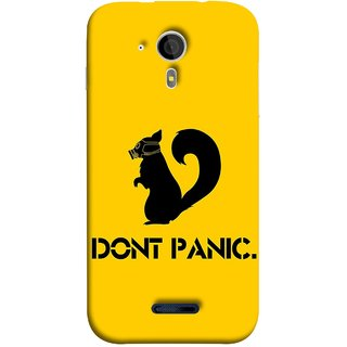 FUSON Designer Back Case Cover for Micromax Canvas Magnus A117 :: Micromax A117 Canvas Magnus (Never Panic Stay Cool And Solve Relax Always)