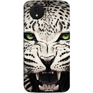 FUSON Designer Back Case Cover for Micromax Canvas Android A1 AQ4501 :: Micromax Canvas Android A1 (Jungle King Stearing Angry Roaring Loud Aslan Panther)