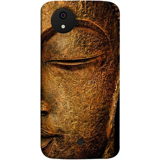 FUSON Designer Back Case Cover for Micromax Canvas Android A1 AQ4501 :: Micromax Canvas Android A1 (Gautam Buddha Statue Scenary Lord Siddharth)