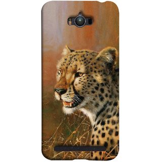 FUSON Designer Back Case Cover For Asus Zenfone Max ZC550KL :: Asus Zenfone Max ZC550KL 2016 :: Asus Zenfone Max ZC550KL 6A076IN (Jungle King Stearing Angry Roaring Loud Aslan Panther)