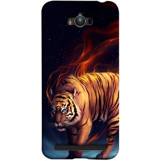 FUSON Designer Back Case Cover For Asus Zenfone Max ZC550KL :: Asus Zenfone Max ZC550KL 2016 :: Asus Zenfone Max ZC550KL 6A076IN (Jungle King Stearing Leopard Jaguar Aslan Panther Lion)