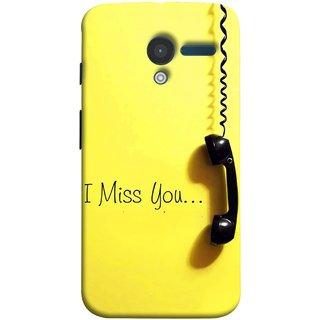 FUSON Designer Back Case Cover for Motorola Moto X :: Motorola Moto  X (1st Gen) XT1052 XT1058 XT1053 XT1056 XT1060 XT1055  (Always I Love You Red Hearts Couples Together Valentine)