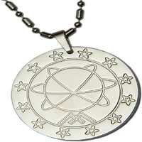 Scalar Energy Silver Pendant