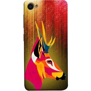 FUSON Designer Back Case Cover For Lenovo Zuk Z2 Plus (Christmas Deer Origami Merry Abstract Reindeer)