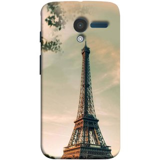 FUSON Designer Back Case Cover for Motorola Moto X :: Motorola Moto  X (1st Gen) XT1052 XT1058 XT1053 XT1056 XT1060 XT1055  ( Paris Sunrise France Tourist Place Hd Wallpaper)