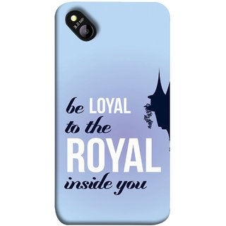 FUSON Designer Back Case Cover for Micromax Bolt D303 (Lamppost Hights New Horizon Loyalty Wall Art )