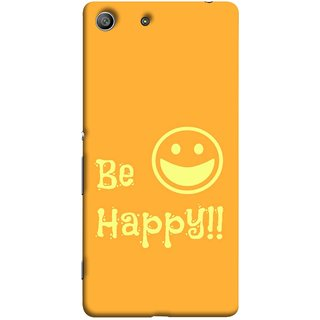 FUSON Designer Back Case Cover For Sony Xperia Z3 Compact :: Sony Xperia Z3 Mini (Big Smile Best Wallpapers Inspiration Quote)