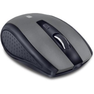 iBall 2.4GHz Wireless Optical Mouse G18 -Silver Black