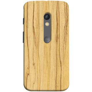 FUSON Designer Back Case Cover for Motorola Moto X Play (Plywood Good Quality Best Mobile Back Cover )
