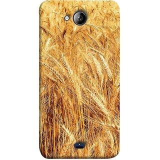 FUSON Designer Back Case Cover for Micromax Bolt Q338 (Wheat Farmers Farms Morning Sunlight Bright Day)
