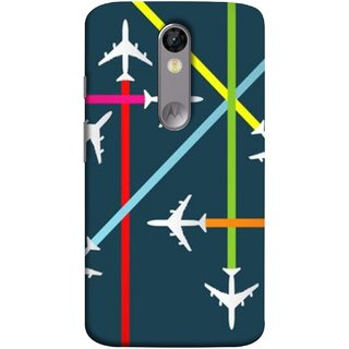 FUSON Designer Back Case Cover for Motorola Moto X Force :: Motorola Moto X Force Dual SIM (Aeropalnes Flights Schedules Origin Destination Map)