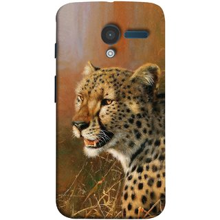 FUSON Designer Back Case Cover for Motorola Moto X :: Motorola Moto  X (1st Gen) XT1052 XT1058 XT1053 XT1056 XT1060 XT1055  (Jungle King Stearing Angry Roaring Loud Aslan Panther)