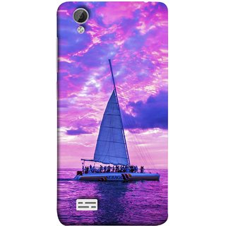 FUSON Designer Back Case Cover For Vivo Y31 :: Vivo Y31L (Country World Asia Africa Cruise Wallpaper Painting)