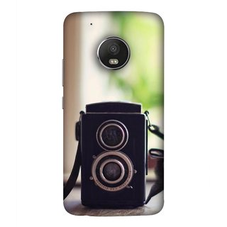 FUSON Designer Back Case Cover For Motorola Moto G5 Plus (Antique & Vintage Cameras Make Great Deco)