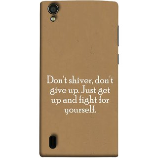 FUSON Designer Back Case Cover For Vivo Y15S :: Vivo Y15 (Yourself Motivational Inspirational Saying Quotes)