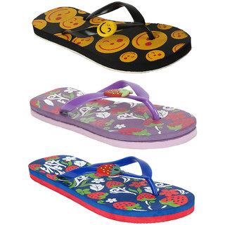 53da31be6e410 Buy Earton Women Combo Pack Of 3 Flip-Flops