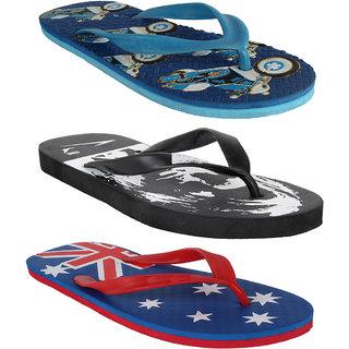 e21ed06832a58 Buy Earton Men Combo Pack Of 3 Flip-Flops House Slipper Online - Get ...