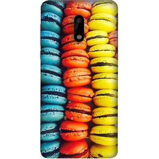 FUSON Designer Back Case Cover For Nokia 6 (Homemade Veggie Burgers With Sweet Potato )