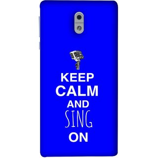 FUSON Designer Back Case Cover For Nokia 3 (Lovers Couples Involved Forever Party Girly Song Sing)