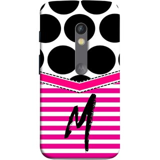 FUSON Designer Back Case Cover for Motorola Moto X Play (Beautiful Cute Nice Couples Pink Design Paper Girly M)