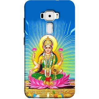 FUSON Designer Back Case Cover For Asus Zenfone 3 ZE520KL (5.2 Inches) (Maa Dhan Lakshmi Hindu Parvati Saraswati Shankar)