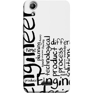 FUSON Designer Back Case Cover for Micromax Canvas Selfie 2 Q340 (Engineer Process Corporate Jobs Technical Solutions )