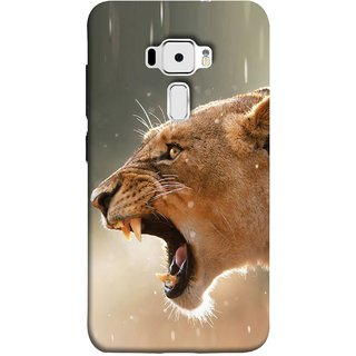 FUSON Designer Back Case Cover For Asus Zenfone 3 ZE520KL (5.2 Inches) (Tiger Lion Chitta Angrily Looking Killer Hunter Shikari)