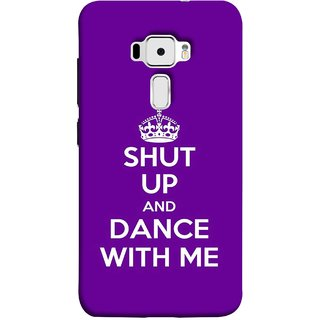 FUSON Designer Back Case Cover For Asus Zenfone 3 ZE520KL (5.2 Inches) (Beautiful Music Musical Enjoy Party Good To Shut)