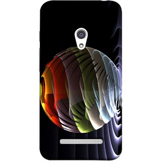 FUSON Designer Back Case Cover For Asus Zenfone 5 A501CG (Red Bubbles Unique Whimsical Fantasy Fine Art Spots)