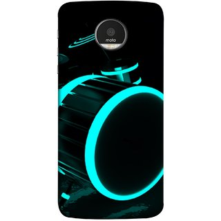 FUSON Designer Back Case Cover for Motorola Moto Z :: Motorola Moto Z Droid in USA (Lighted Drums Led Light Up Drum Set Drum Lights )