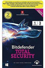 Bitdefender Internet Security 1 User / 3Year (Single Key)