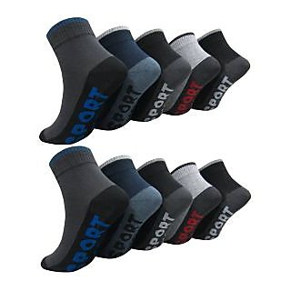Classic Look Mens Ankle Socks Pack of 5 Pair- GS-5-65
