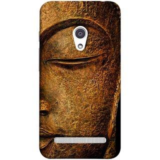 FUSON Designer Back Case Cover For Asus Zenfone 6 A600CG (Gautam Buddha Statue Scenary Lord Siddharth)