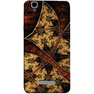 FUSON Designer Back Case Cover For YU Yureka Plus :: Yu Yureka Plus YU5510A (Colour Canvas For Hall Bedroom Painting Intresting)
