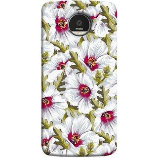 FUSON Designer Back Case Cover for Motorola Moto Z :: Motorola Moto Z Droid in USA (Floral Patterns Digital Textiles Florals Design Patterns)