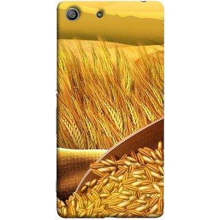 FUSON Designer Back Case Cover For Sony Xperia Z3 :: Sony Xperia Z3 Dual D6603 :: Sony Xperia Z3 D6633 (Wheat Farmers Farms Morning Sunlight Bright Day)