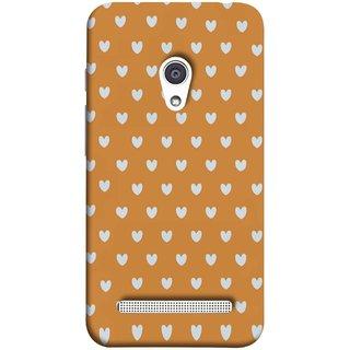 FUSON Designer Back Case Cover For Asus Zenfone 6 A600CG (Lovers Boys Girls Girly Rose Day Collage Schools Garden)