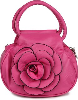 varsha women potli flower bag pink