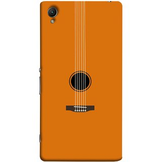 FUSON Designer Back Case Cover For Sony Xperia Z2 (5.2 Inches) (Musical Instrument Vintage Bass Music Lovers Play)