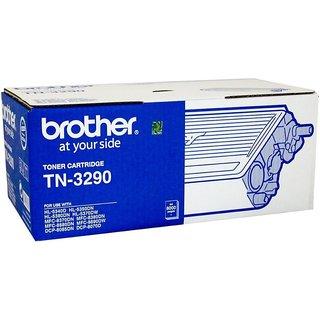 Brother TN 3290 Black Toner cartridge use Brother MFC-8880DN,MFC-8370DN,DCP-8070D,HL-5340D,HL-5350DN Single Color Toner (Black)
