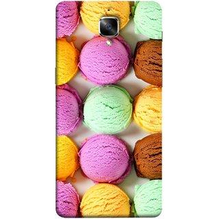 FUSON Designer Back Case Cover for OnePlus 3 :: OnePlus Three :: One Plus 3 (Cherry Flowers Hearts Lemons Almonds Cashews Pista)