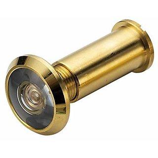 Door View Gold Finish 180 Degree (Door Hardware fittings) pack of 1